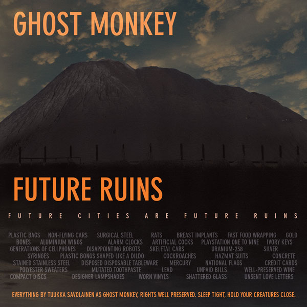Front cover, Future Ruins
